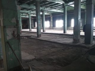 Бетонный промышленный пол с топпингом, Кемерово